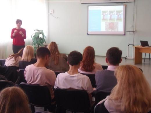 18 октября прошло профориентационное мероприятие для учащихся 10-11-х классов со специалистами EPAM Systems