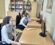 9 декабря, в шестой школьный день, учащиеся 5 «Э» класса познакомились с интернет-ресурсами, полезными для изучения немецкого языка