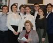 Ребята из гимназического театра «Антей» 3 марта проявили акт милосердия и благотворительности, выступив со спектаклем о Высоцком в Мураванском доме-интернате
