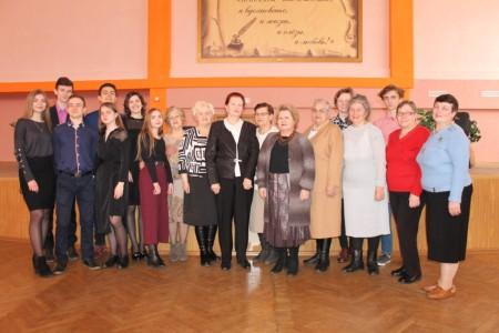 15 марта 2018 года для ветеранов педагогического труда и одиноко проживающих граждан  пенсионного возраста состоялся творческий вечер гимназического театра «Антей», посвященный творчеству Владимира Высоцкого.