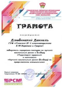 05.04 Территория здоровья Дзюбинский ДАНИЕЛЬ