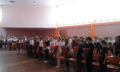 17 мая, накануне дня рождения Пионерии, в нашей гимназии состоялось торжественное и важное событие. 128-и учащимся присвоили гордое звание пионер!