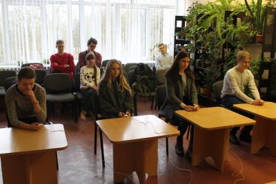 16 февраля 2019 года, в шестой школьный день, прошли  областные соревнования по интеллектуальной игре «Своя игра» в индивидульном зачете  на базе                         УО «Гродненский государственный областной Дворец творчества детей и молодежи».
